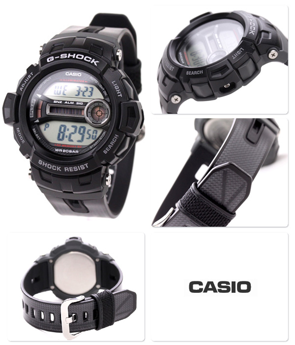 Casio G-Shock GD200 GD-200-1JF - 96909a2e8399