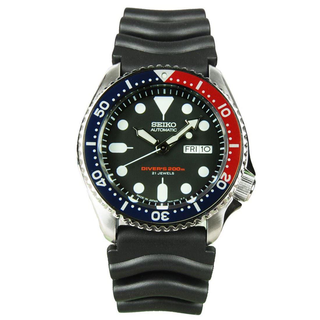 Seiko Automatic Divers 21 Jewels Skx009 Skx009j Skx009j1 Srpb01