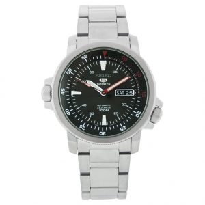 257157d0404 SNZJ57 · SNDE15. Description. Seiko Kinetic Black Dial Black Canvas Mens  Watch SMY143 SMY143P SMY143P1