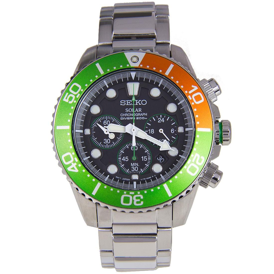Seiko Solar Chronograph Diver's SSC237 SSC237P SSC237P1