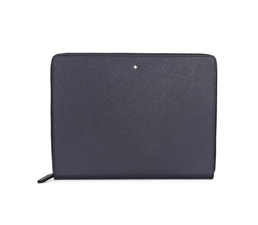 53bc1f2245e4 Meisterstück Selection Navy Leather iPad Pouch - 109638