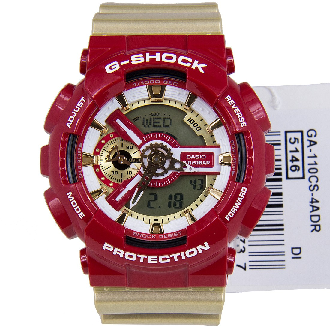 Casio G Shock Ga110cs Ga 110cs 4adr Dw 6900nb 7dr