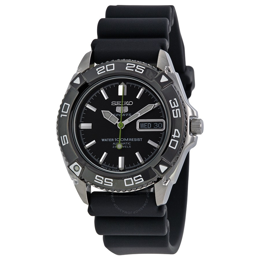 Japan Seiko 5 Sports 100m Automatic Men's Watch SNZB23J2 ...