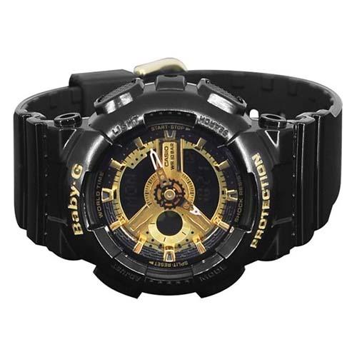Casio Baby-G Women s Black Resin Strap Watch BA-110-1ADR - c40a51a368